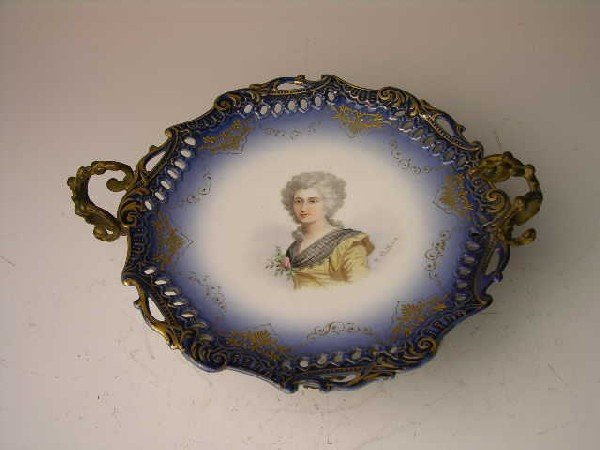 22: SEVRES CENTER PIECE BOWL.