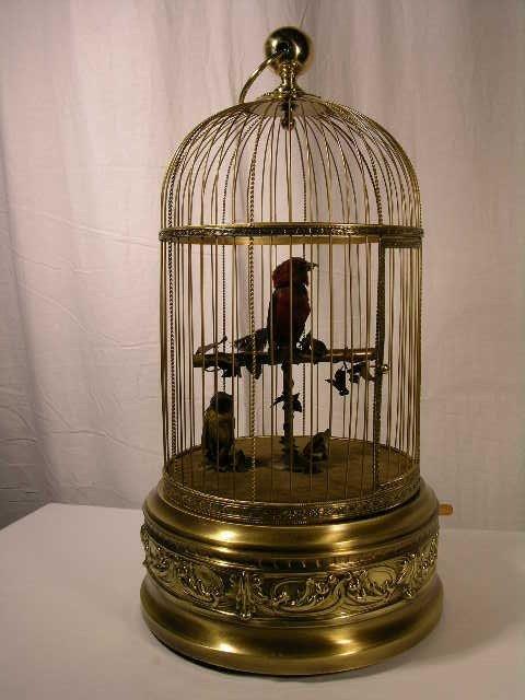 17: BONTEMS MECHANICAL SINGING BIRD AUTOMATON.  (BLAIS