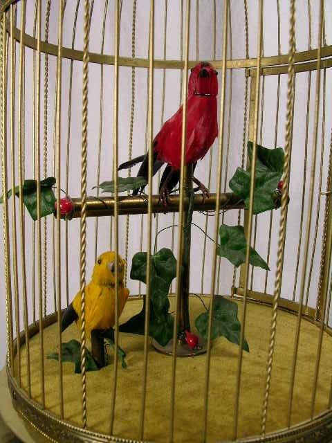 20: BONTEMS MECHANICAL SINGING BIRD AUTOMATON.  (BLAIS