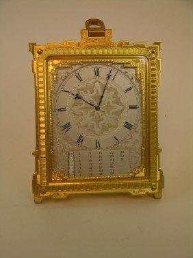 1: THOMAS COLE CLOCK (ENGLISH: 1800-1864) CLOCK WITH CA
