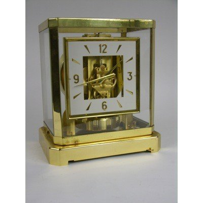9: LE COULTRE ATMOS CLOCK.