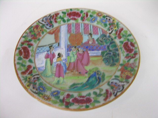 15: SMALL CHINESE  PORCELAIN PLATE.