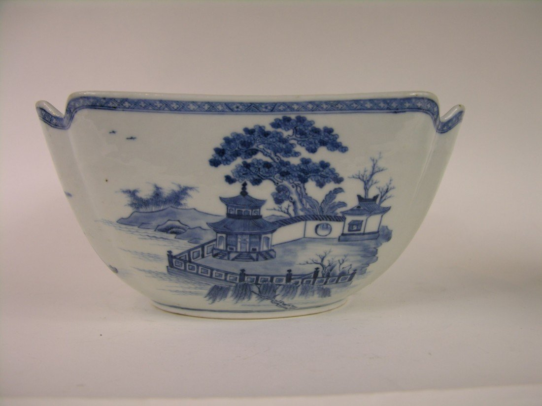 17: LARGE CHINESE CHIEN LING BOWL CIRCA 1796-1820. DIAM