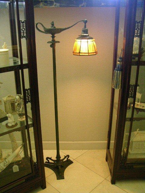 5: TIFFANY STUDIOS FLOOR LAMP.
