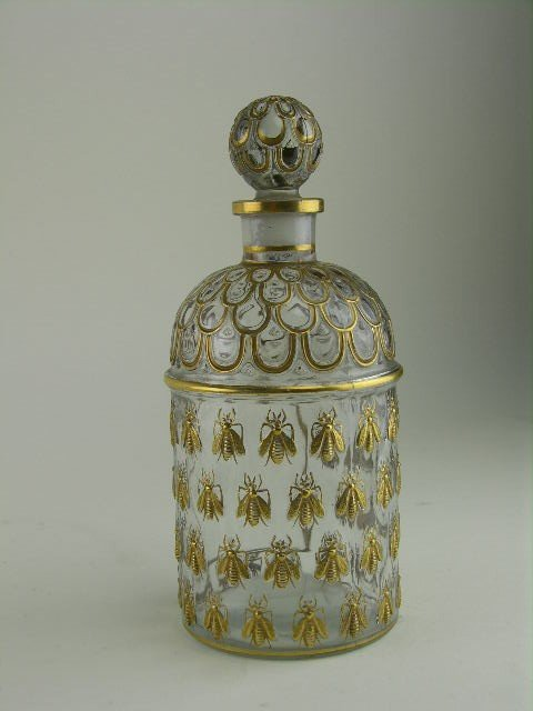 4: Guerlain perfume bottle decorated in the Napoleonic