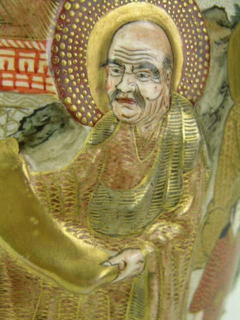 9: Signed Satsuma vase. - 5