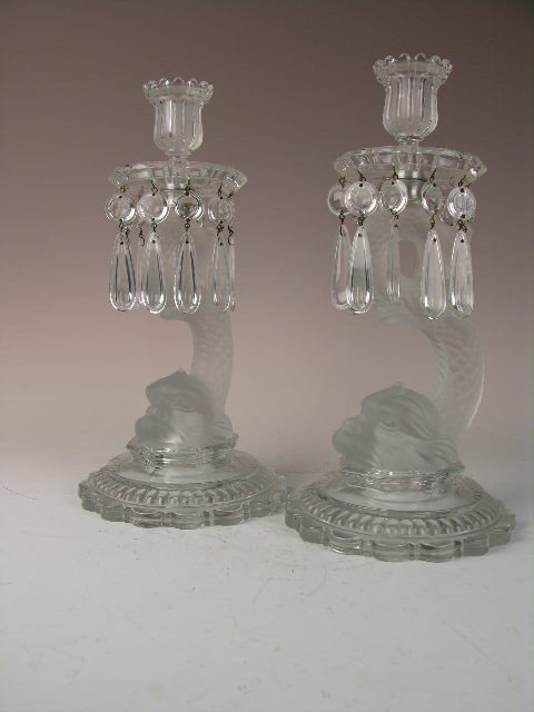 146: Pair of Baccarat 19th century Empire style