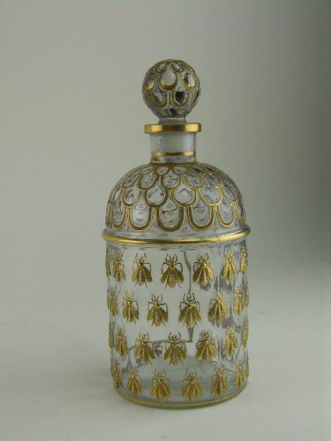 21: Guerlain perfume bottle decorated in the Napoleonic