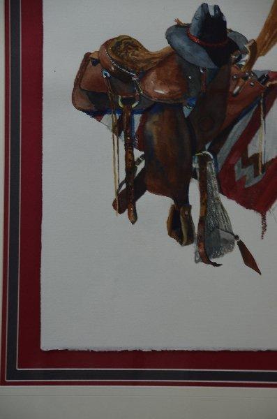 51: Karen Rae, American 20th/21st century, Western Tack - 4