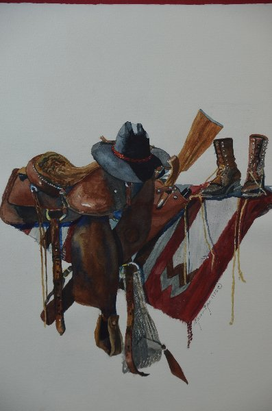 51: Karen Rae, American 20th/21st century, Western Tack - 5