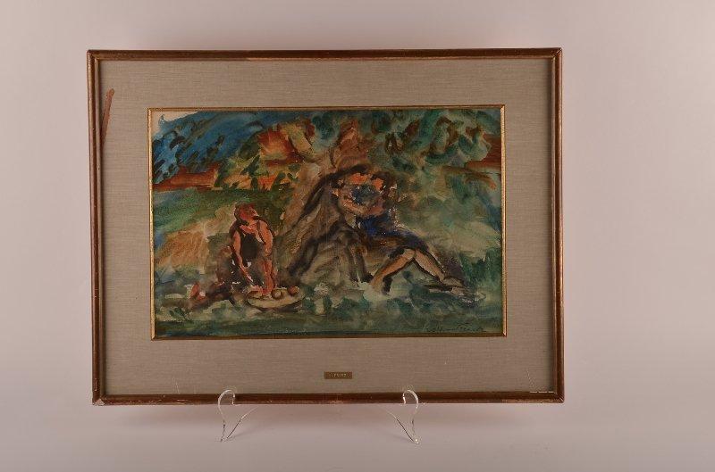 54: Emile Othon Friesz, French 1879-1949, Sans Titre, w