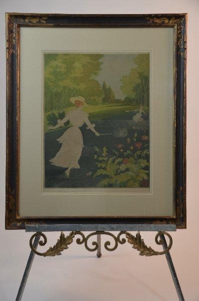 56: Henry-Julien Detouche, French 1854-1913, Badminton,