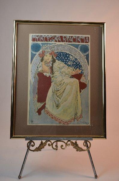 57: Alphonse Mucha, Czech 1860-1939, Princenza Hyacinta
