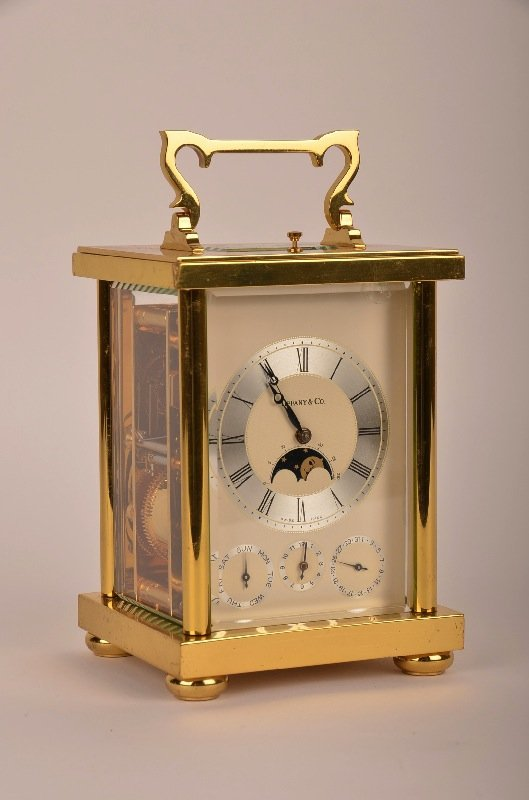 4: Tiffany Carriage Regulator Clock Repeater Moonphase