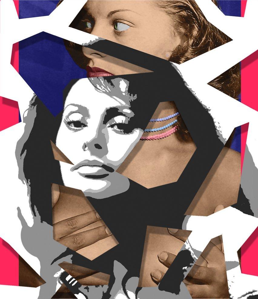 "1: Jim Ceravolo, American b. 1953, ""Hidden Sophia"""