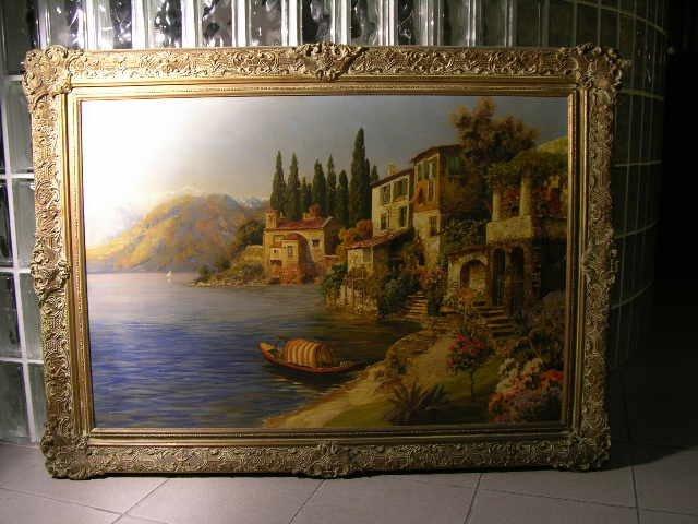 2: Gottfried Arnegger oil on canvas