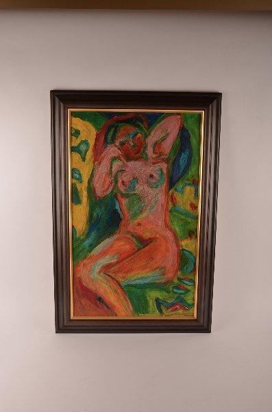 6: Ernst Ludwig Kirchner Attributed, German 1883-1938,