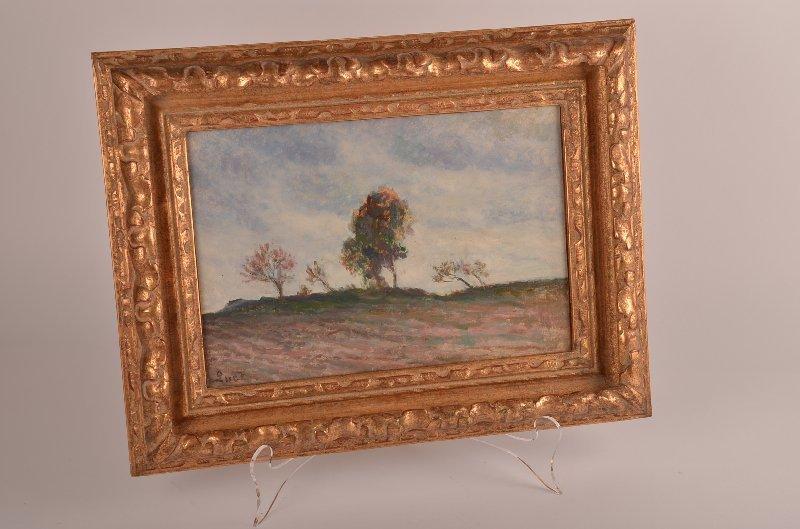 10: Maximillen Luce, French 1858-1941, Champs et arbres