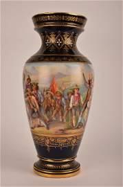 20: Royal Vienna Vase, Signed E. Latterman.