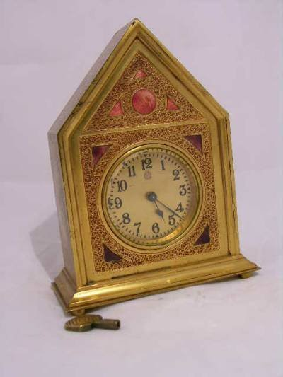 5: Louis C. Tiffany Furnaces, Inc. desk clock  in the ""