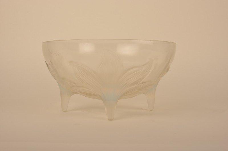 """21: Rene Lalique """"Lys"""" bowl."""