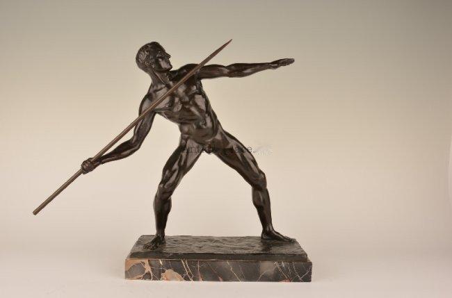 A Javalin thrower.
