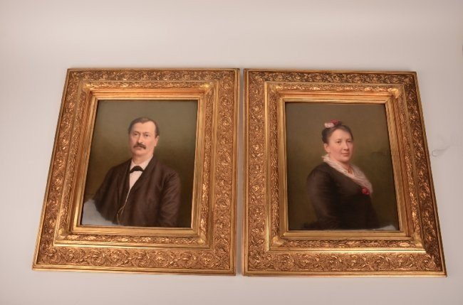 A pair of KPM plaques.