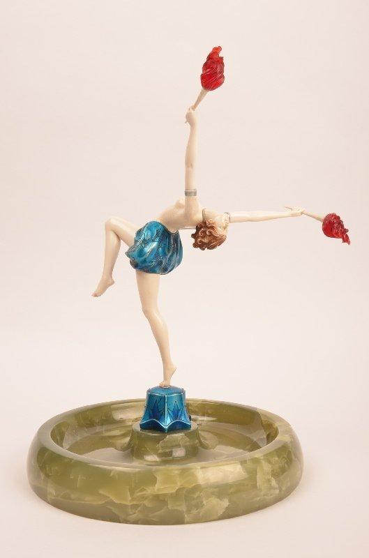 """Ferdinand Preiss (German;1882-1943) """"Tourch Dancer"""""""