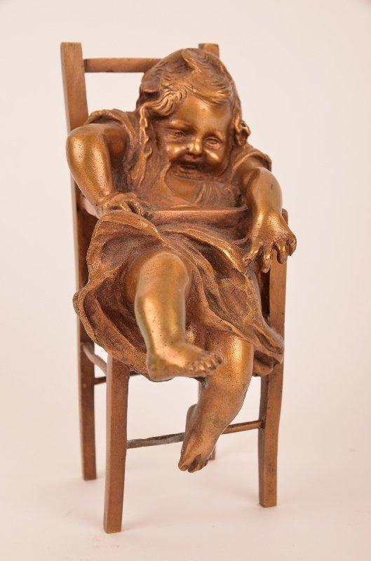 Juan Clara (Spanish 1875-1957) bronze figure.