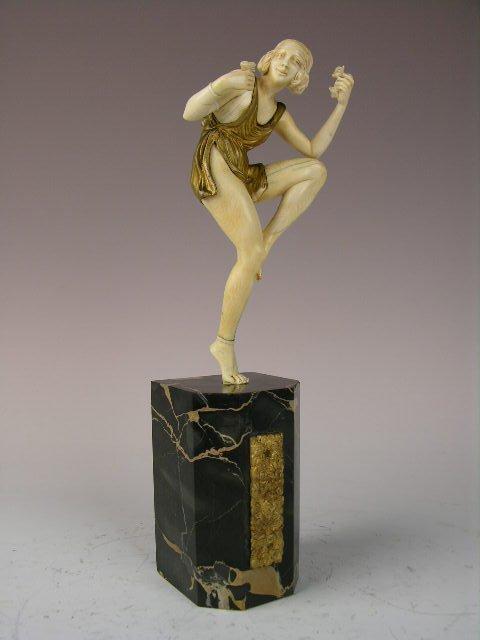 PIERRE LAUREL (FRENCH:WORKED 1920s). SCULPTURE.
