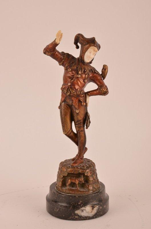 Eugene Barillot (French, 1841-1900), bronze and ivory