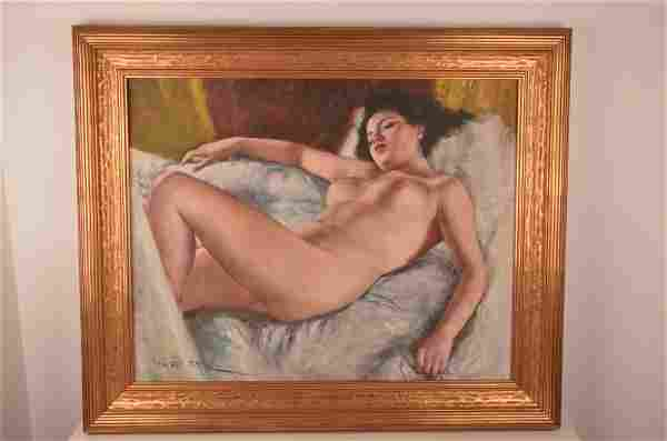 Pal Fried (Hungarian:1893-1976). Oil on canvas