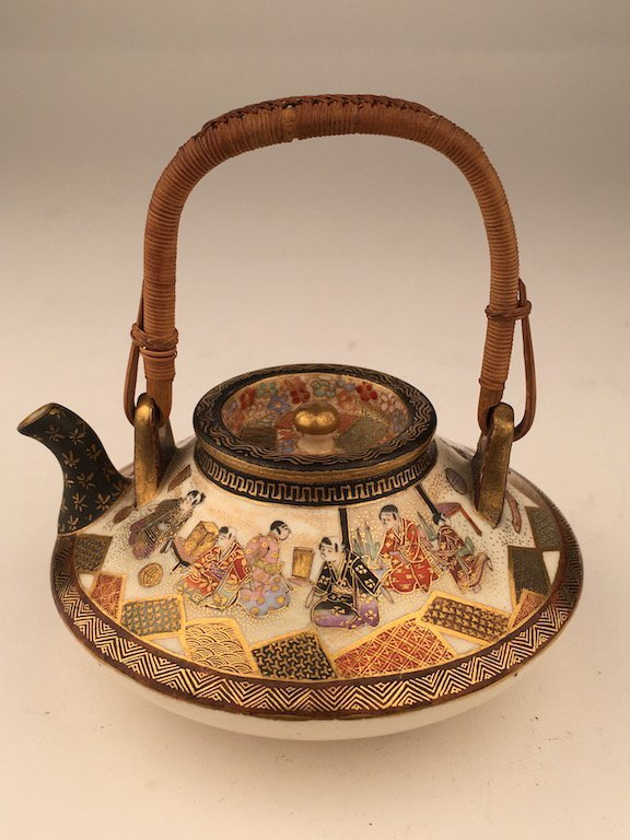 19 th Century Japanese porcelain Satsuma tea or sake