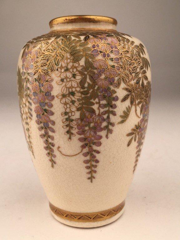 Antique Satsuma vase.
