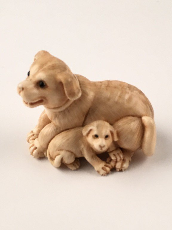 Carved Netsuke.