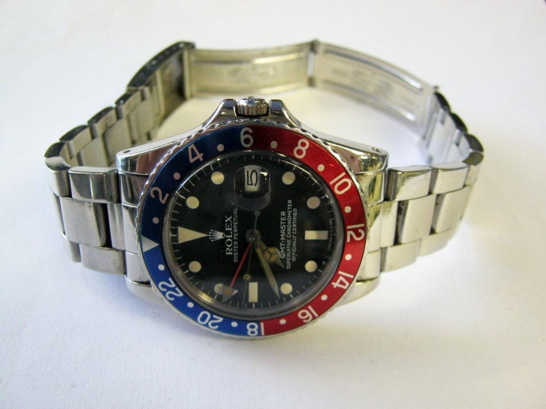 Rolex GMT, Stainless Steel,  Pepsi Bezel