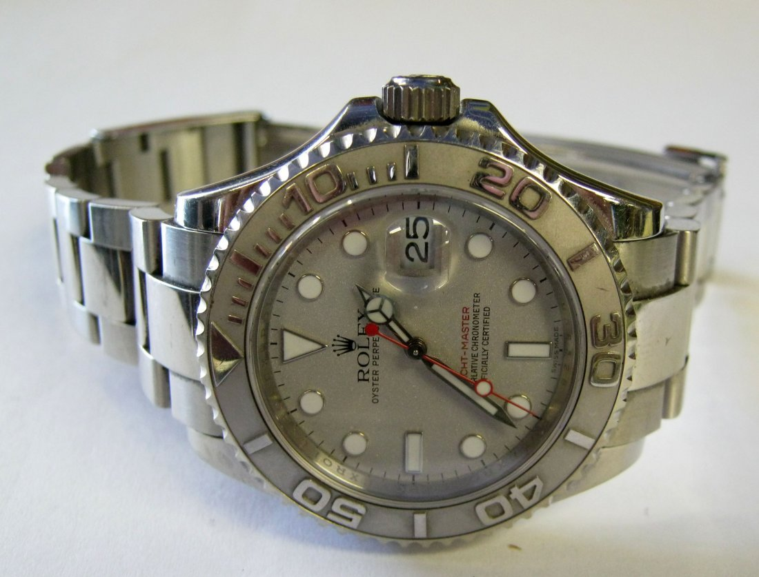 Men's Rolex Yachtmaster 2009, Box and Papers
