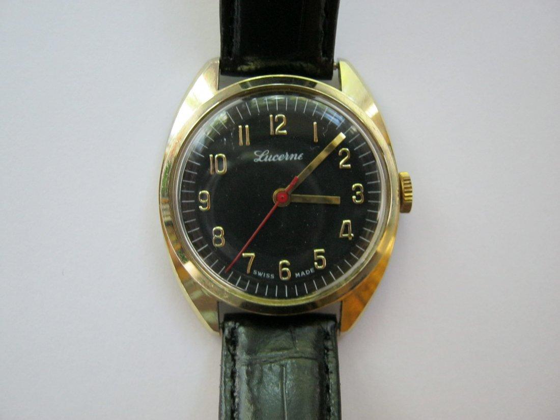 Vintage Lucerne Watch, c.1960s