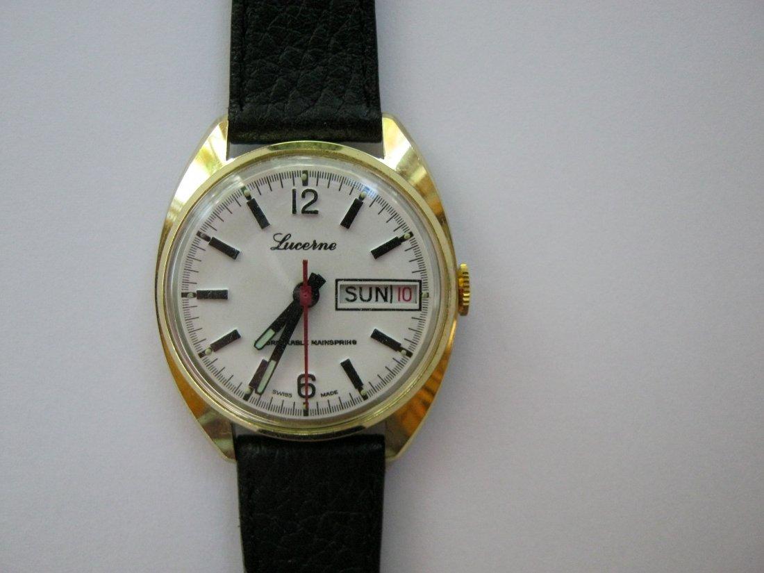 Elegant Lucerne watch, c.1960s