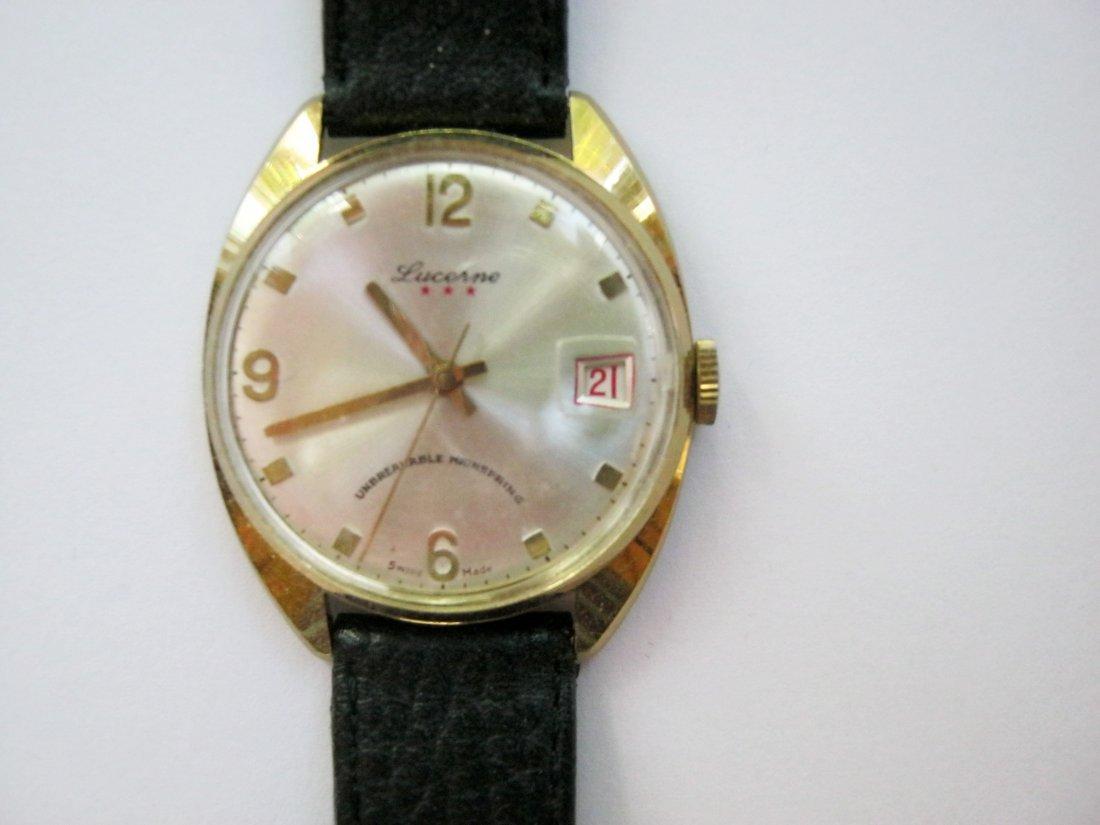 Antique Lucerne Men's Watch, c.1960s