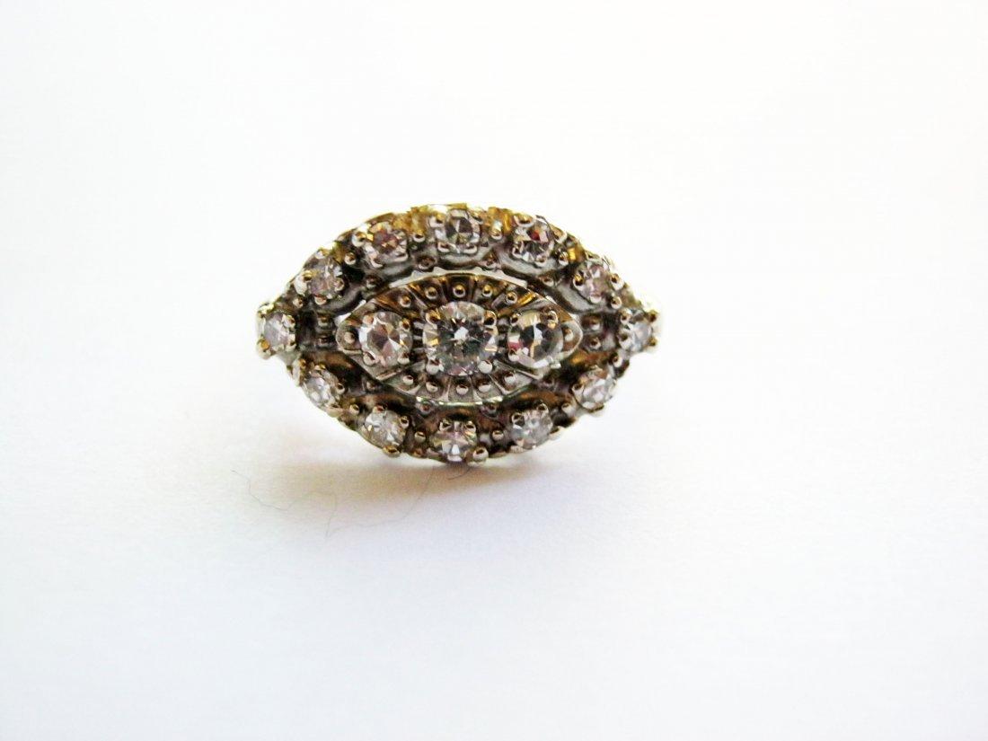 Fine Diamond Cocktail Ring, 14k White Gold