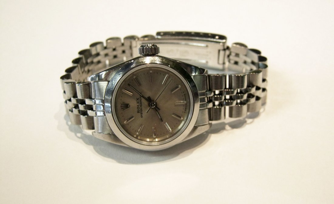 Rolex Woman's Oyster Perpetual S/S