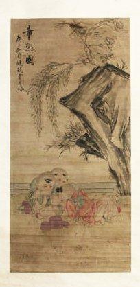 Chinese Painting, Signed Fei Danxu