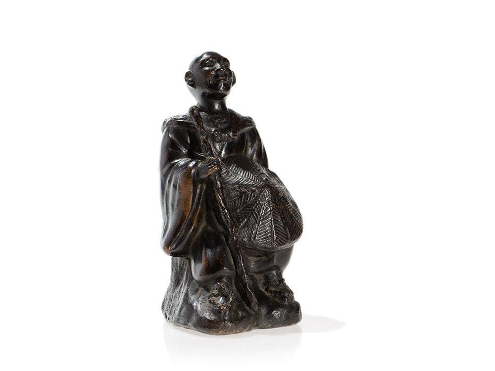 Fine Bronze Figure, Ming Dynasty