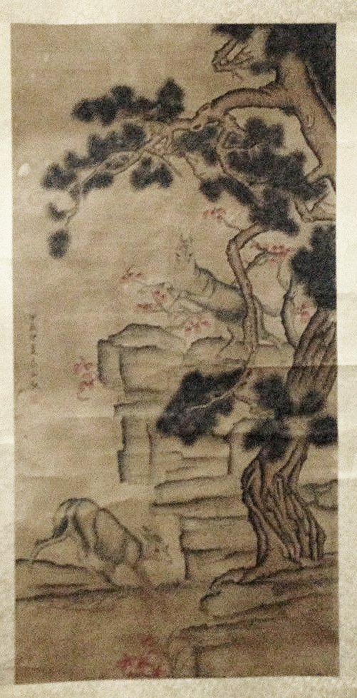 Antique Chinese Painting, 19th century