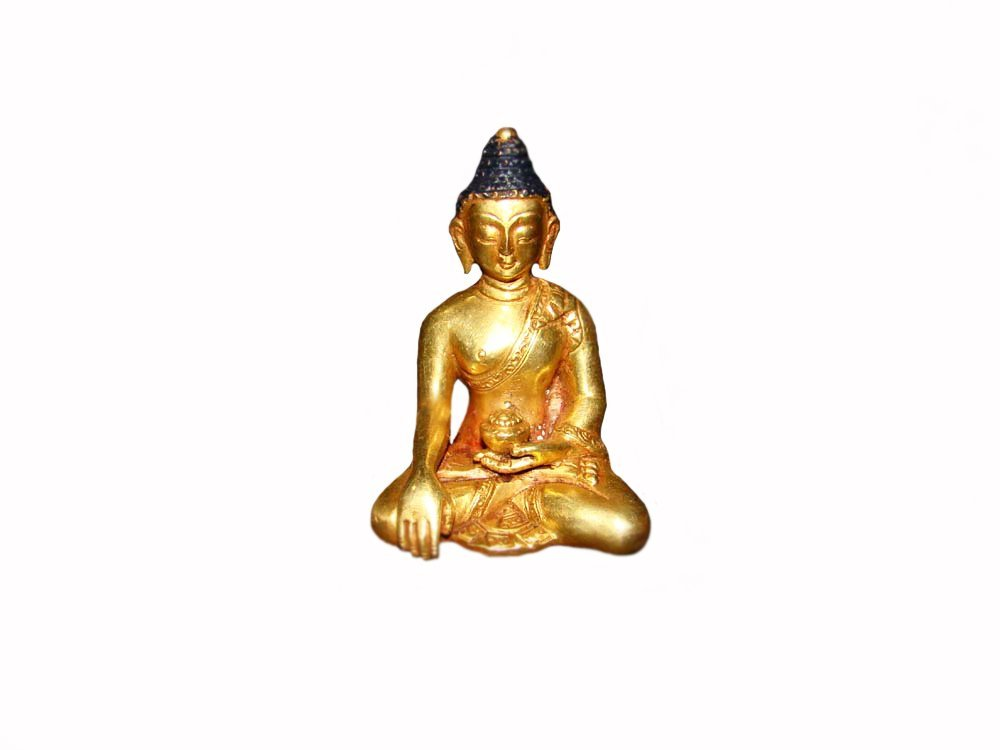 Very Fine Small Gilt Buddha