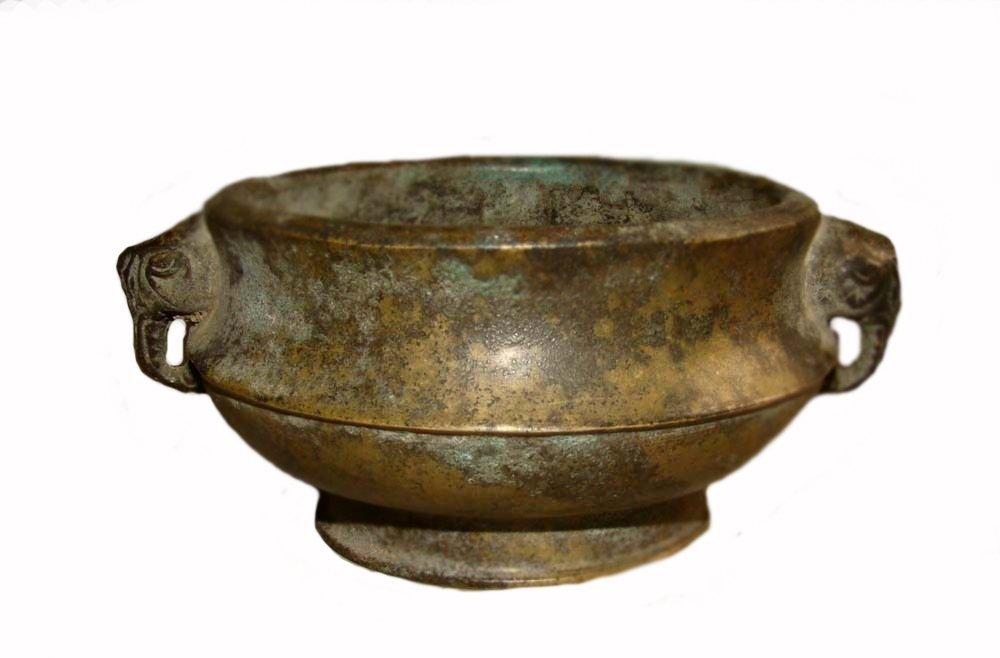 Antique Bronze Censer, Qing Dynasty