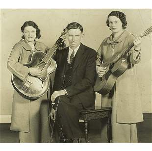 PHOTOGRAPH OF MAYBELLE, A.P. AND SARA - THE ORIGINAL
