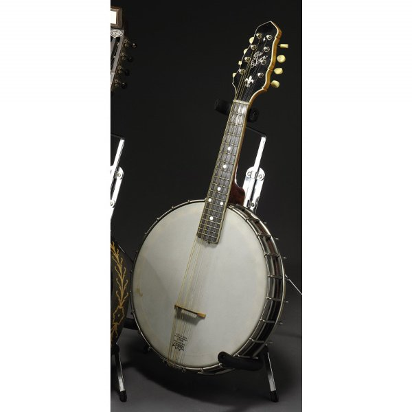 14: JUNE CARTER CASH GIBSON MODEL MB-4 MANDOLIN BANJO,