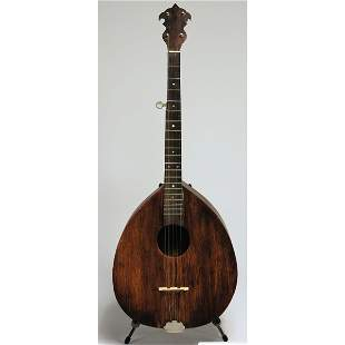 HANDMADE BANJO LUTE OWNED BY MOTHER MAYBELLE CARTER